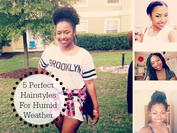 5 Perfect Hairstyles For Humid Weather