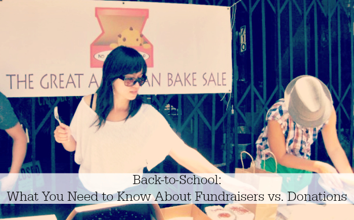 What You Need to Know About School Fundraisers vs. Donations