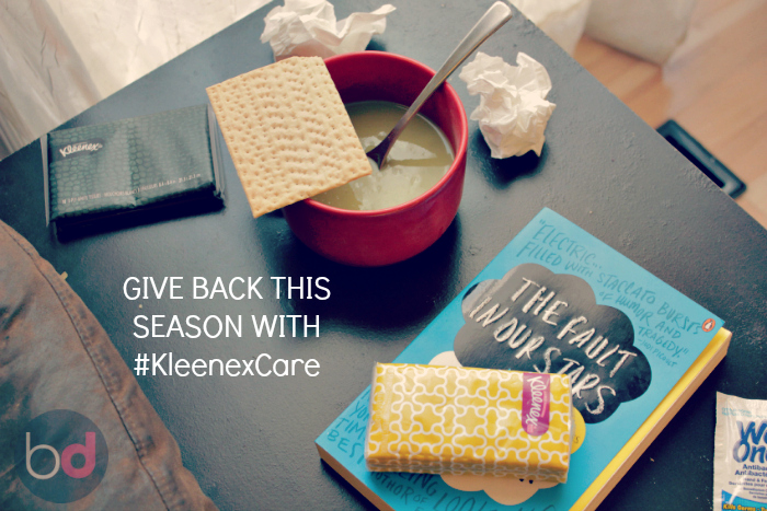 GIVE BACK THIS SEASON WITH #KleenexCare
