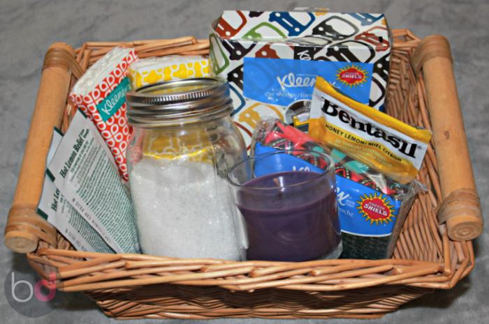 Flu Season Gift Basket #KleenexCare