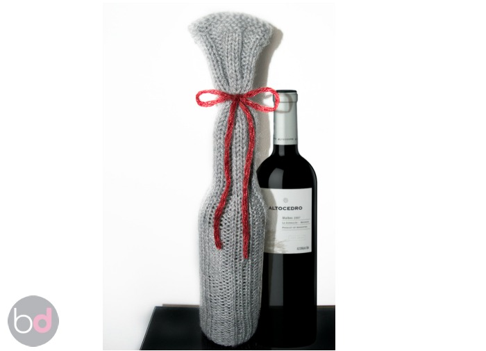 DIY Wine Gift Bag