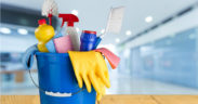 cleaning supplies green cleaning