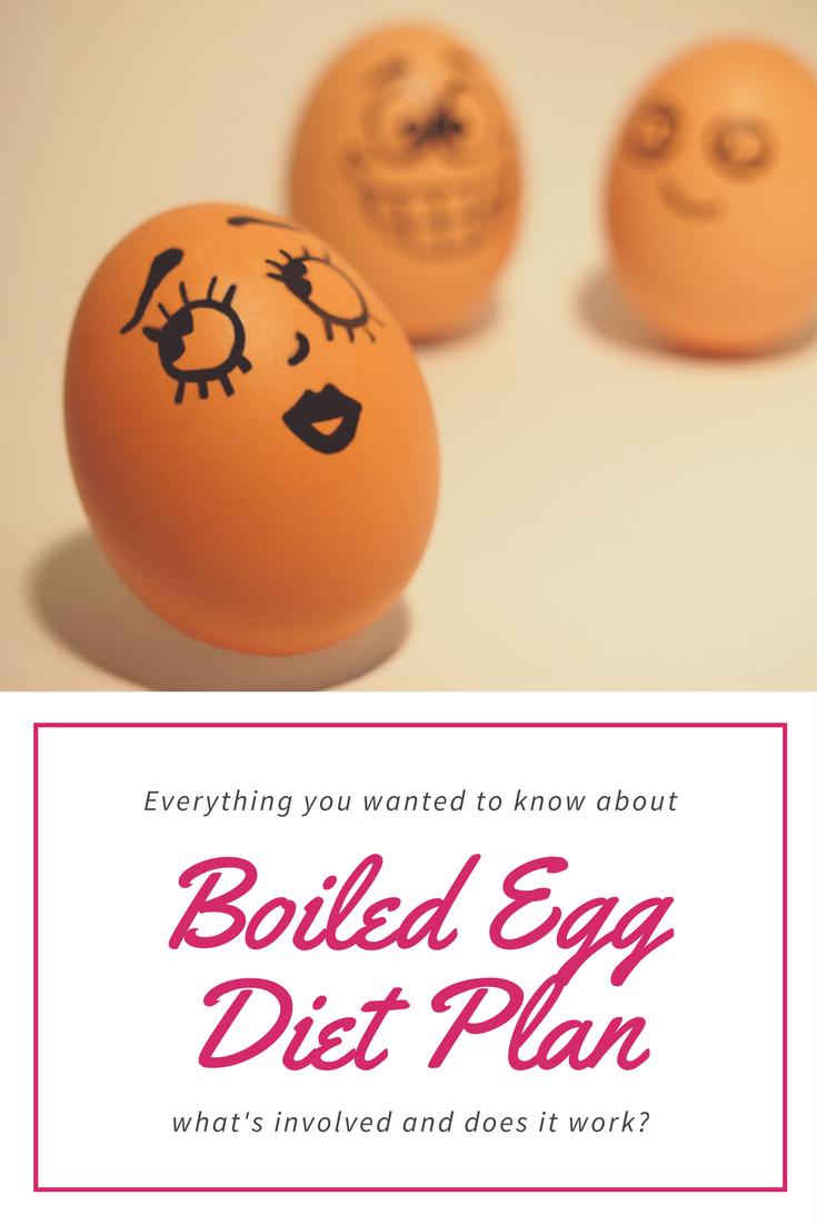 Boiled egg diet pla